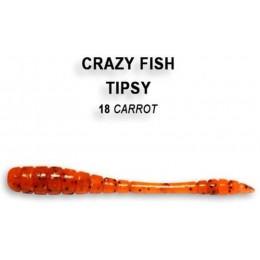 """Силиконовая приманка Crazy Fish Tipsy 2"""" цвет 18 (8 шт)"""
