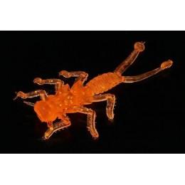 Силиконовая приманка MicroKiller Веснянка 8 шт (оранжевый флюо) M-10109