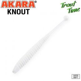 Силиконовая приманка Akara Trout Time KNOUT 2.5 Cheese цвет 02T (10 шт)