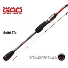 Спиннинг GAD PIN POINT 218см 1-7гр FAST Solid tip PPS722UL