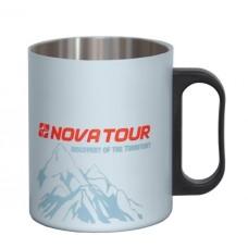 Термокружка NOVA TOUR 350 мл цвет серый