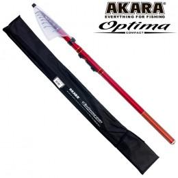 Удочка болонская AKARA OPTIMA COMPACT с/к 4.4 м