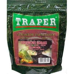 Сухой ароматизатор TRAPER ATRACTOR 250 гр Czerwone robaki (красные черви)