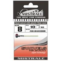 Адаптор для поплавка MISTRALL AM-84410 HEAD SWIVEL WITH PLASTIC FLOAT SEAT 6 мм
