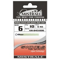 Адаптор для поплавка MISTRALL AM-84510 ROLLING SWIVEL WITH PLASTIC FLOAT SEAT 11 мм