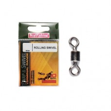 Вертлюжок BRAT FISHING 70/01-301 ROLLING SWIVEL # 08