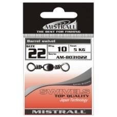 Вертлюжок MISTRALL AM-80310 BARREL SWIVEL # 16