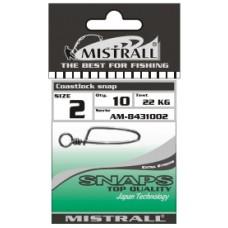 Застежка MISTRALL AM-84310 COASTLOCK SNAP # 02