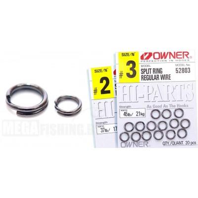 Заводное кольцо OWNER 72803 (52803) SPLIT RING FINE WIRE # 4